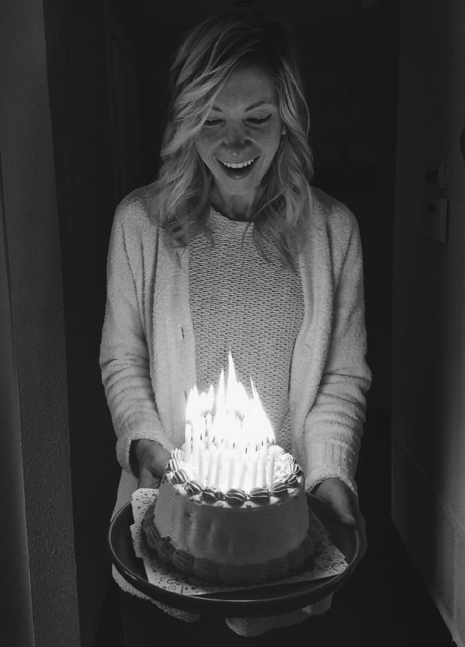 Kaypee on her 30th birthday