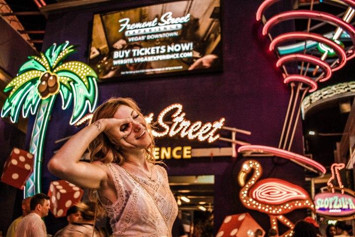 Sights: Fremont Street – Las Vegas,NV