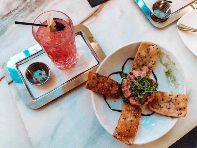 Cooper Lounge Food