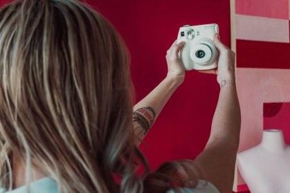 Instax Instant Camera Selfie